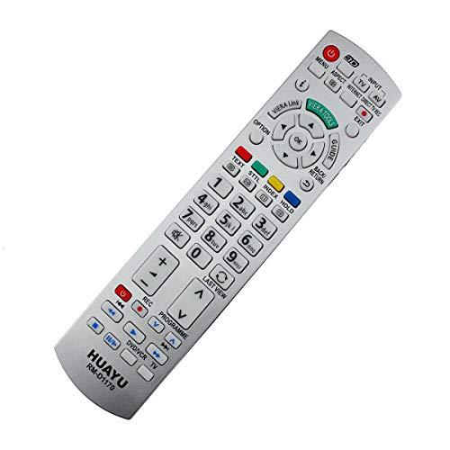 Ersatz Fernbedienung passend für Panasonic D1170   TXL42EX34 TV Remote Weiß - Plug und Play, Kabellos, Top Qualität