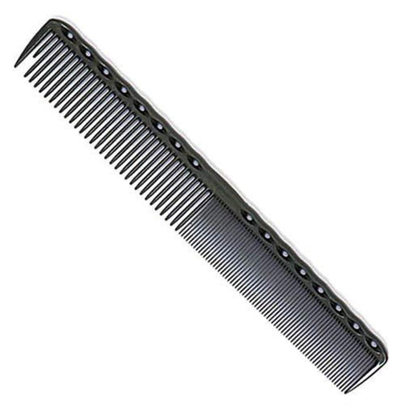 パーク組み込む何よりもYS Park 336 Fine Cutting Grip Comb - Graphite [並行輸入品]