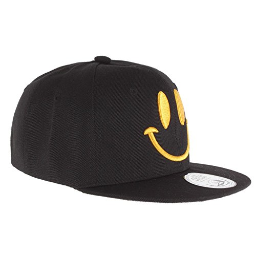 JOHNNY CHICOS NY New York süße Kindercap Kinder Cap Snapback 50-56cm Kopfumfang (One Size, Smile)