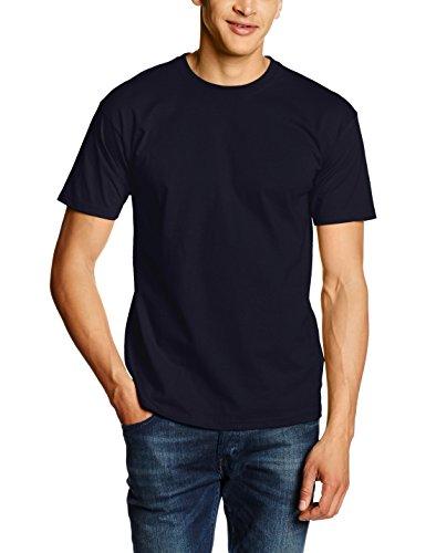 Fruit of the Loom SS028M Camiseta, Azul (Deep Navy), X-Large para Hombre
