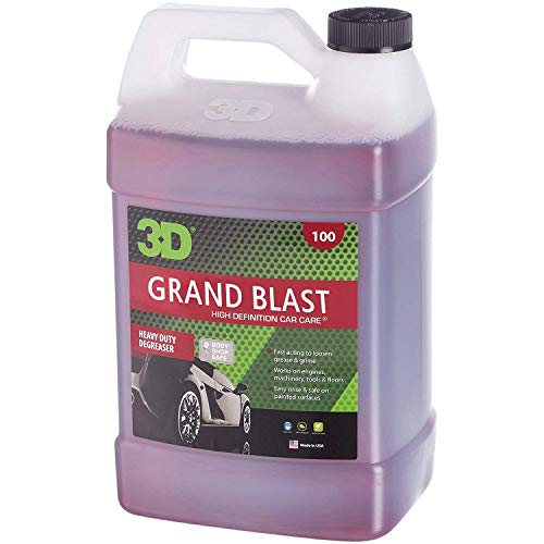 3D Grand Blast Engine Degreaser - 1 Gallon | Heavy Duty Industrial Cleaner & Degreaser | Removes...
