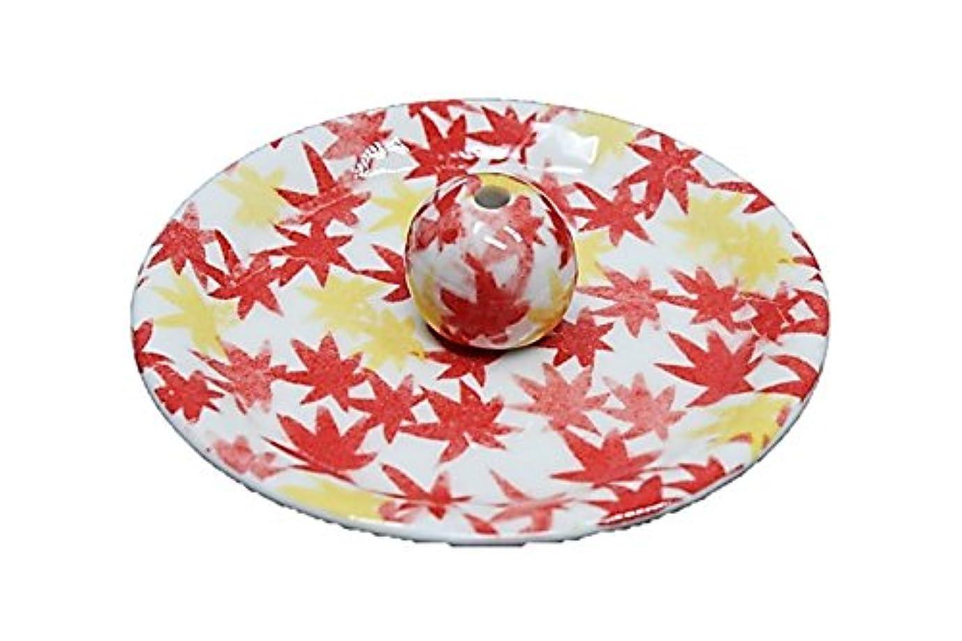 醸造所胚化合物9-18 和路 朱 9cm香皿 お香立て お香たて 陶器 日本製 製造?直売品