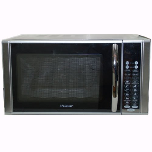 Multistar MW30S1000GSH Grill Microwave Oven, 220-240 Volt/50Hz INTERNATIONAL VOLTAGE & PLUG FOR OVERSEAS USE ONLY WILL NOT WORK IN THE US, OUR PRODUCT ARE BRAND NEW, WE DO NOT SELL USED OR REFURBUSHED