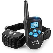 PET CAREE Shock Collar Dogs Remote, Adjustable Beep/Vibrating/Shock Dog Training Collar 100% Rainproof Rechargeable Electronic Dog Collar 330 Yards, E-Collar Dogs