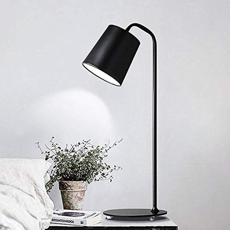 Modern E27 Tischlampe Schwarz Eisen Lernlampe Augenschutz Schreibtischleuchte Wohnraum Schlafzimmer Arbeitszimmer Büro Leselampe Kinder Nachttisch Lampen,20  25  59CM