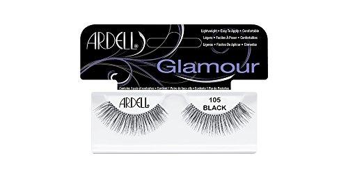 Pestañas 105 Ardell Fashion negro, Paquete 4er (4 x 1 Pieza)