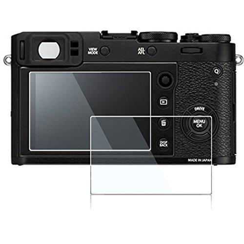Screen Protector for Fujifilm X100T X100F X-E2 X-E2S ?not for X100V?,debous Anti-finger Optical Tempered Glass for Fuji X100T X100F XE2 XE2S Digital Camera (3 pack)