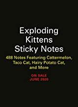 Exploding Kittens Sticky Notes: 488 Notes Featuring Tacocat, Avocato, Royale with Fleas, and More