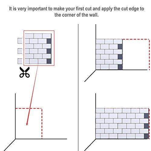 Art3d 10-Sheet Peel and Stick Tile Backsplash - 12