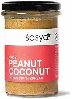 Spicy Peanut Coconut Dip 'n Spread - Vegan, Gluten Free Indian Chutney - 10.6 Fl Oz, (Pack of 2)