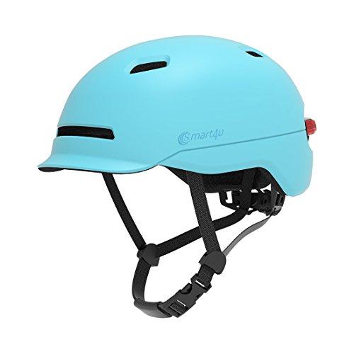 Livall d'équitation Smart4u Smart casque de vélo avec 3types d'alerte lumières, Smart & Safe Bling casque, confortable, léger, respirant et étanche casque de cyclisme, Noir , grand