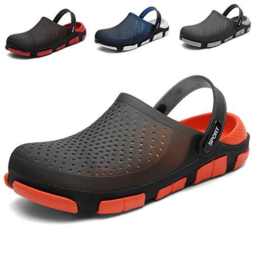 [WANDWAN] サンダル スリッパ 水陸両用 メンズ レディ 穴靴サンダル 沙?凉鞋 スポーツサンダル スリッパス 男女兼用室内履きルームシューズ 速乾 超軽量 通気性 快適スリッポンサンダルスリッパ大きい