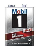 Mobil エンジンオイル モービル1 5W-50 SN 4L [HTRC3]