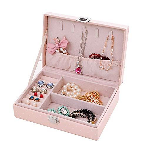 GPWDSN Boîte à Bijoux boîte à Bijoux pour Femmes Boucle...