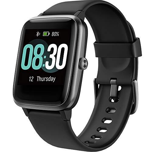 UMIDIGI Reloj Inteligente Smartwatch Impermeable IP68 para Hombre Mujer niños, Pulsera de Actividad Inteligente con Monitor de Sueño Contador de Caloría Pulsómetros Podómetro para Android iOS