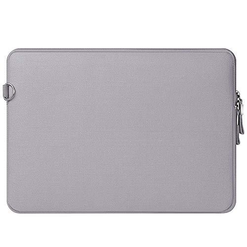 Funda Protectora Sólo para MacBook 12 Pulgadas con Pantall Retina A1534 (Lanzamiento 2017/2016/2015), Repelente de Agua de Lycra Laptop Manga Bolsa con Un Pequeño Caso,Gris