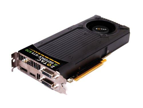 Zotac NVIDIA GeForce GTX 670 Grafikkarte (PCI-e 3.0, 2GB, GDDR5, 2x DVI, HDMI, DisplayPort)
