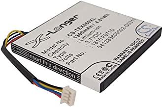 Extra Longer Capacity Replacement Battery for Texas Instruments N2/AC/2L1/A, TI-84 C Silver, TI-84 Plus C Silver Edition, TI-Nspire CAS Touchpad, TI-Nspire CX, TI-Nspire CX CAS, TI-Nspire Touchpad