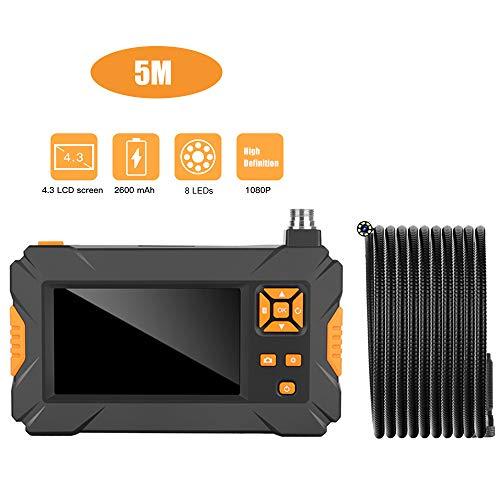 STHfficial 1080p HD video waterdichte bewakingscamera P30 Industrial endoscoop Digital Borescope 4.3 inch LCD-camera 35
