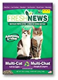 Fresh News Recycled Paper, Original Crumble Multi-Cat Litter 14 Pounds