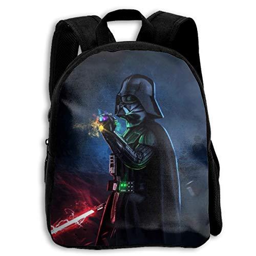 Others Darth-Vader Unisex Kids Casual Backpack School Bags Bookbag Daypack for Boy Girls