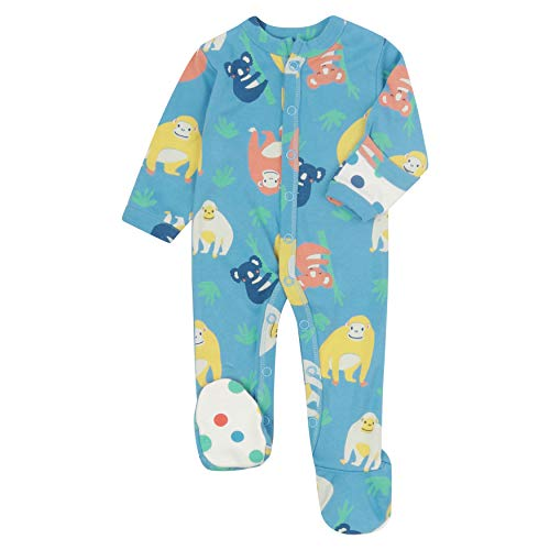 Piccalilly Baby Sleepsuit with Feet, Soft Jersey, Chemical Free...