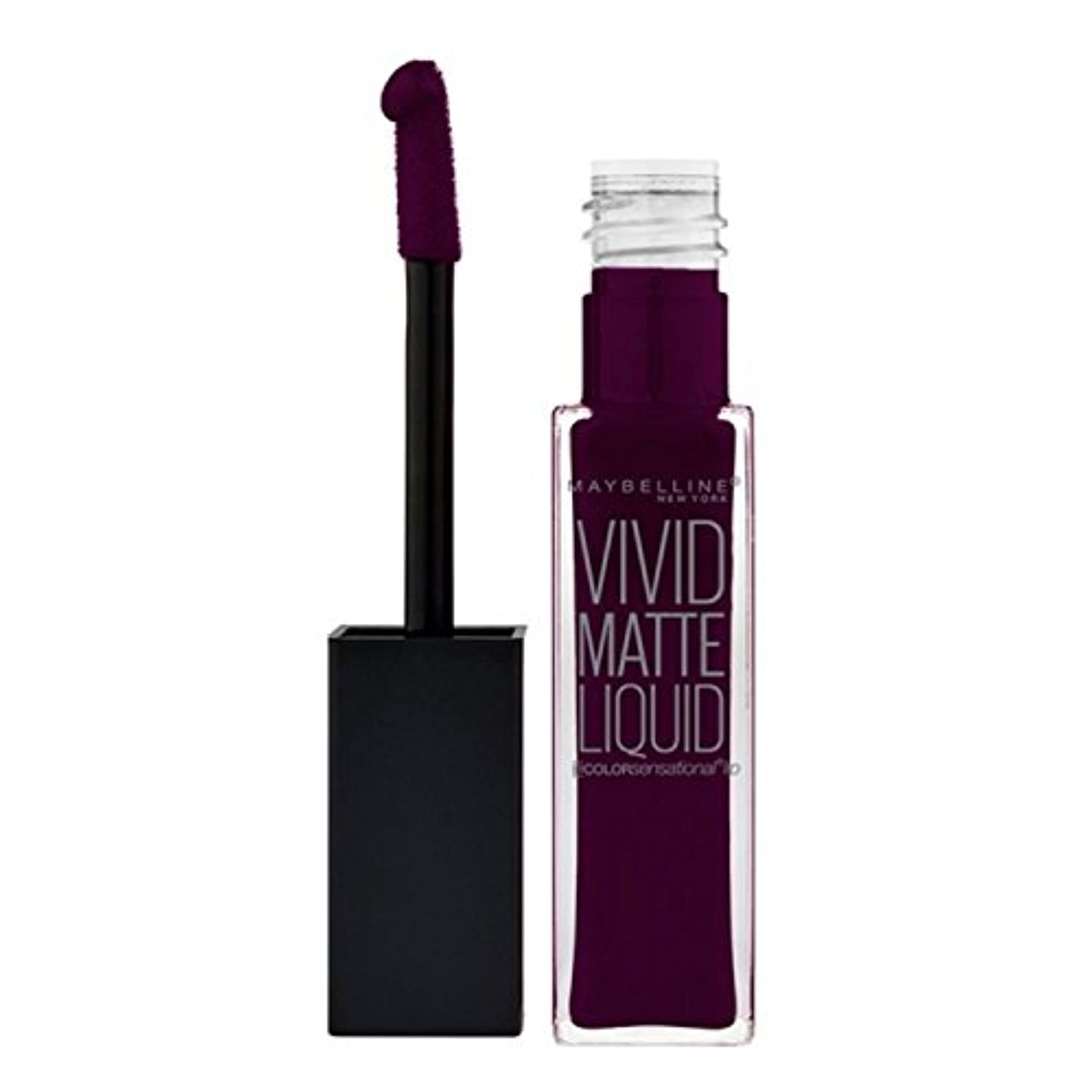 (6 Pack) MAYBELLINE Vivid Matte Liquid Possessed Plum (並行輸入品)