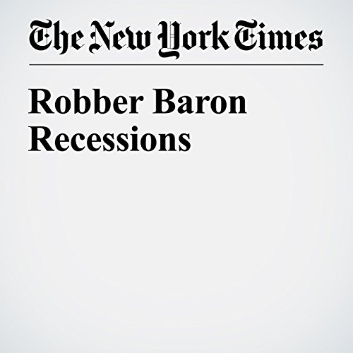 Robber Baron Recessions audiobook cover art