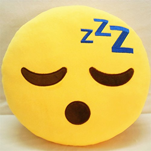 ToLuLu® Soft Emoji Bedding Pillow Cushion Car Sofa Pillow Stuffed Plush Toy...