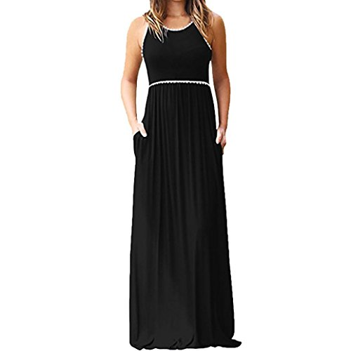 ESAILQ Damen Kleid Abendkleid Schulterfreies Cocktailkleid Jerseykleid Skaterkleid Knielang Elegant...