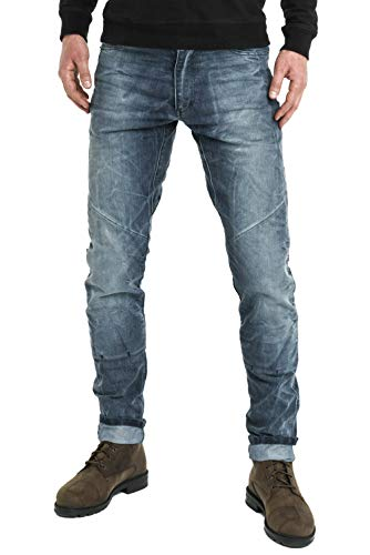 Pando Moto Boss Desert EL Men's Motorcycle Jeans with Cordura and Kevlar Lining CE Approved Motorbike Trousers