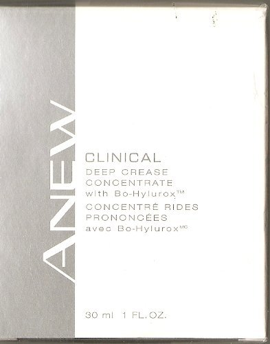 AVON: ANEW CLINICAL DEEP CREASE CONCENTRATE with Bo-Hylurox™ 1 FL. OZ. (30ml)