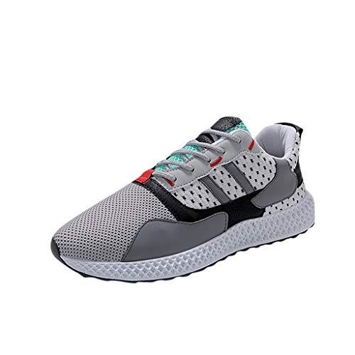 ZARLLE Zapatos de Hombre nuevos Zapatos de Malla Los Zapatos Deportivos de Ocio Son Transpirables en Zapatos de Verano