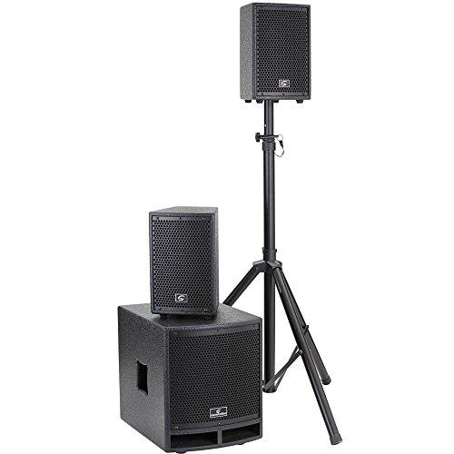 SISTEMA PA 2.1 SOUNDSATION LIVEMAKER 1021 MIX 900W, 2x6.5'+10'