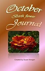 October Birth Flower Journal