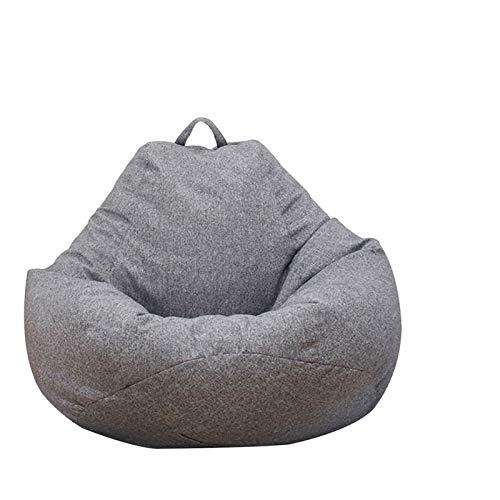 Große und kleine fauler Sofa-Abdeckung Stuhl, ohne Polster, Bettwäsche Lehnstuhl Sitz, Sitzsack Kissen, Flauschiges Sofa, Tatami Wohnzimmer (Color : 80X90 cm)