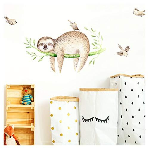 Little Deco muurtattoo luier op AST & vogels II kinderkamer babykamer sticker muursticker muursticker kleefposter stickers DL147