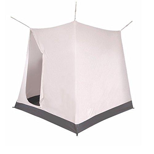 #11 Innenzelt mit Reißverschlußtür und PVC-Boden atmungsaktives Polyester für Vorzelt Camping Zelte Campingzelt Schlafzelt Schlafkabine Bett