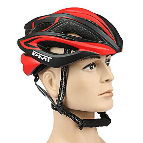 LUCKY Casco de Bicicleta,Casco de Bicicleta de montaña para Adultos,equilibrador de Patinaje sobre Ruedas,Casco,Equipo Deportivo para Hombres y Mujeres (Unisex)