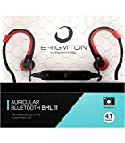 Brigmton BML 11 Dentro de oído Monoaural Inalámbrico Negro, Rojo - Auriculares (Inalámbrico, Dentro de oído, Monoaural, Intraaural, 20 - 20000 Hz, Negro, Rojo)