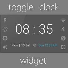 Toggle Clock Widget