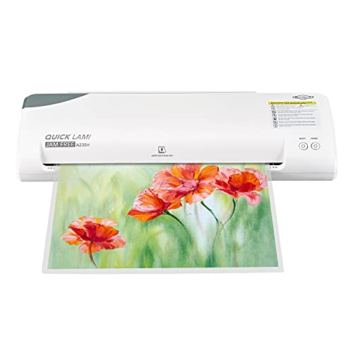 SINCHI 40-Second Warm-up, high Speed Laminating Machine for Business/Office/School/Home, Never Jam 13-inch Thermal laminator Machine with Laminating Sheets