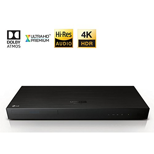 LG Electronics UP970 4K Ultra-HD Blu-ray Player with HDR Compatibility (2017 Model)