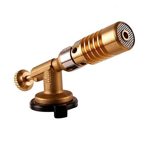 Antorcha Soldadura, Antorcha de gas portátil Llama Pistola de llama Blowtorch Llama de cobre Butano Butano Burnador de gas Calefacción de calefacción para soldadura para camping al aire libre Pistola