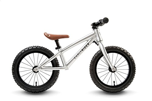 EARLY RIDER Trail Runner - Bicicleta Infantil, Color Plata, Talla 3-5 Years