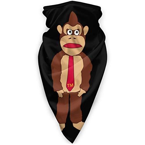 BNUJSAGIF Donkey Kong Tm Krawatte verschiedene Kopfbedeckung Halstuch Halstuch Gesicht Bandana Schal
