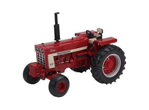 International Harvester Formall 1066 Traktor, Traktor Spielzeug, Sammler Spielzeug, Spielzeug-Traktor kompatibel mit Bauernhof-Spielzeug im Maßstab 1:32, geeignet für Sammler und Kinder ab 3 Jahren