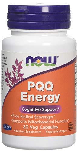 Now Foods PQQ Energy Capsules, 30-Count