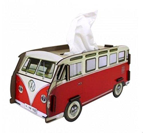 Tissue-Box VW T1 rot von Werkhaus