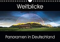 Weitblicke - Panoramen (Wandkalender 2021 DIN A4 quer): Faszinierende Landschaften im Panoramaformat (Monatskalender, 14 Seiten )